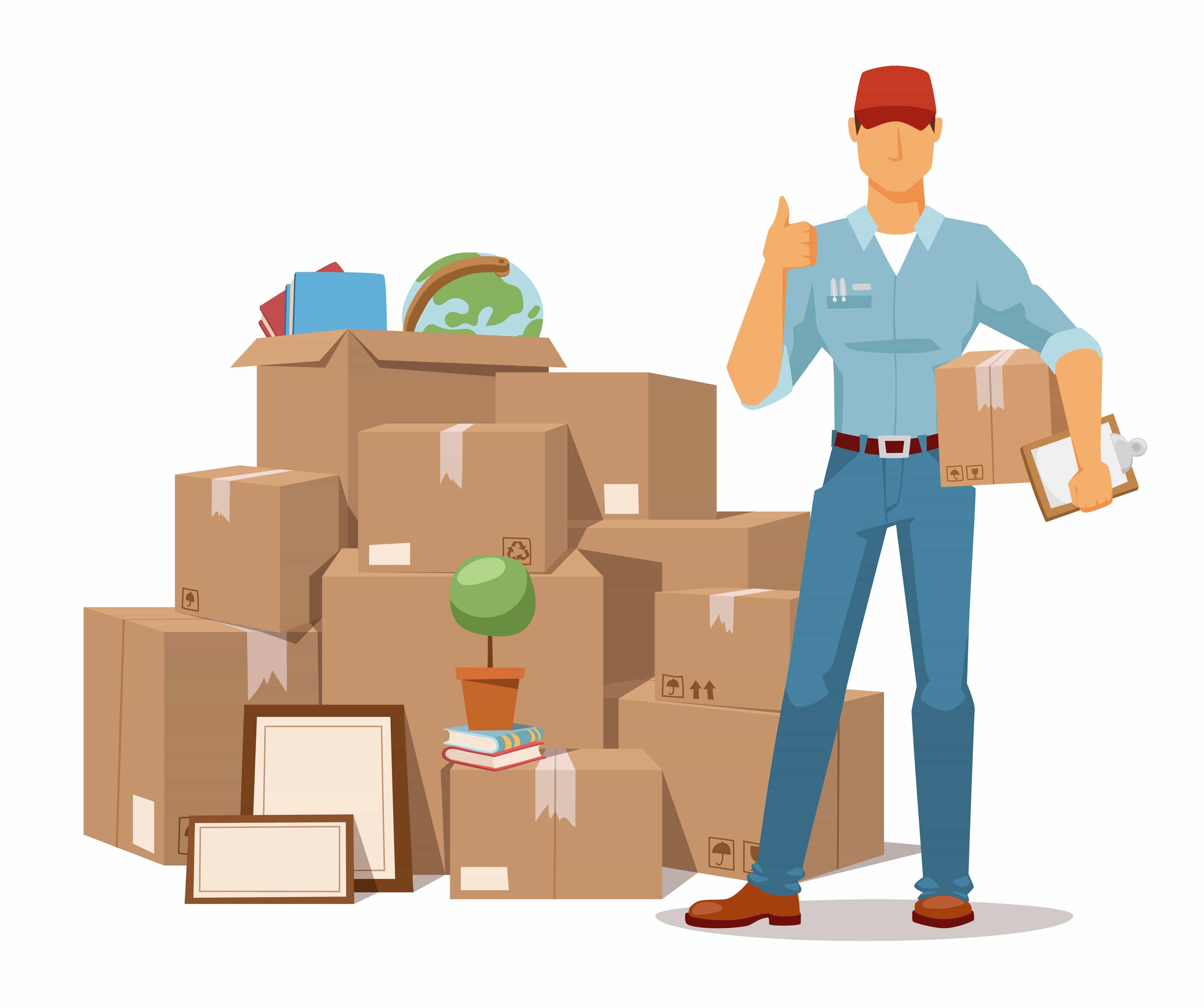 types of relocation services⋆ citymove removals move service man ok hand and box vector illustration move box and men craft